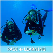 PADI elearning and PADI courses